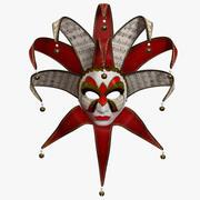 Volto - wenecka maska karnawałowa 3d model