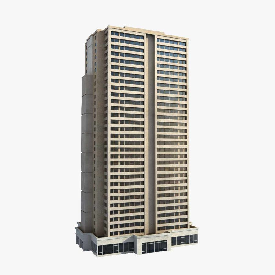 Building Skyscraper royalty-free 3d model - Preview no. 1