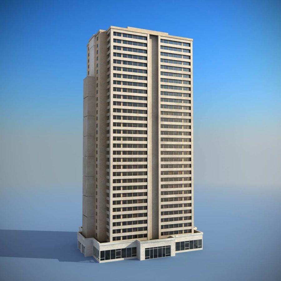 Building Skyscraper royalty-free 3d model - Preview no. 2