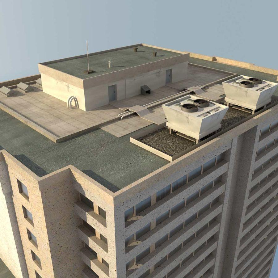 Building Skyscraper royalty-free 3d model - Preview no. 6