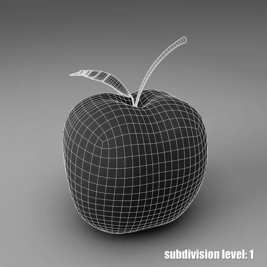 苹果 royalty-free 3d model - Preview no. 4