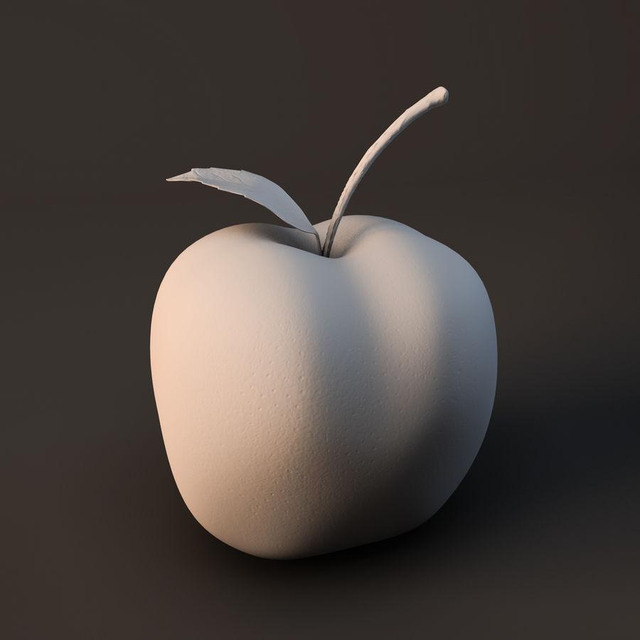 苹果 royalty-free 3d model - Preview no. 1