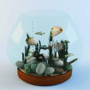 Aquarium 3d model