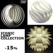 Iconic Lamp Collection 3d model