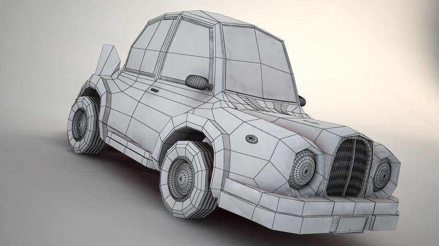 Мультфильм автомобиль royalty-free 3d model - Preview no. 4