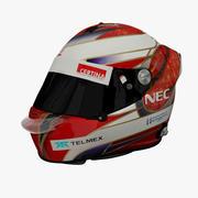 Kamui Kobayashi 2012 Helmet 3d model