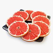 Pomelo Naranja De Pomelo modelo 3d