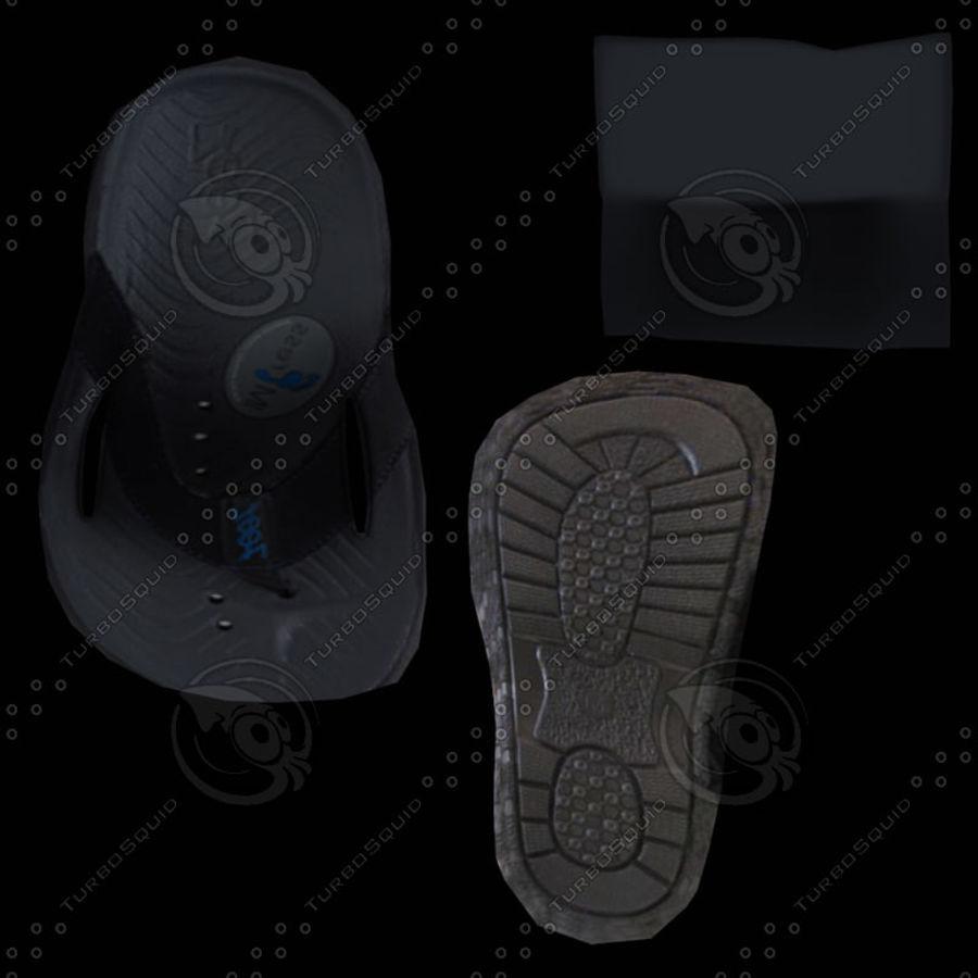 Flip Flop royalty-free 3d model - Preview no. 9