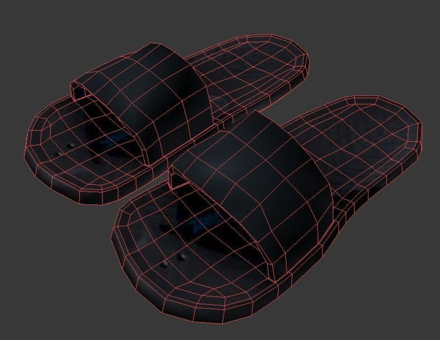 Flip Flop royalty-free 3d model - Preview no. 4