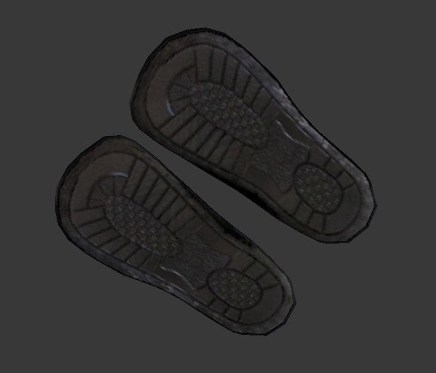 Flip Flop royalty-free 3d model - Preview no. 7