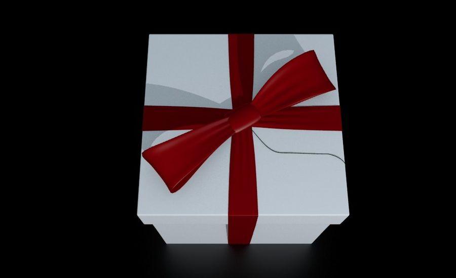 ギフト用の箱 royalty-free 3d model - Preview no. 4