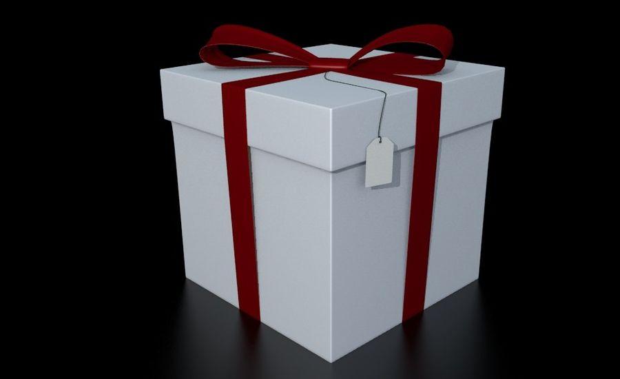 ギフト用の箱 royalty-free 3d model - Preview no. 1