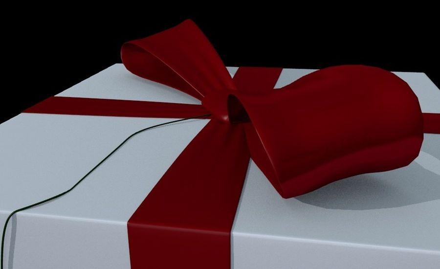 ギフト用の箱 royalty-free 3d model - Preview no. 3