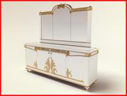 Luxury cupboard 3d model