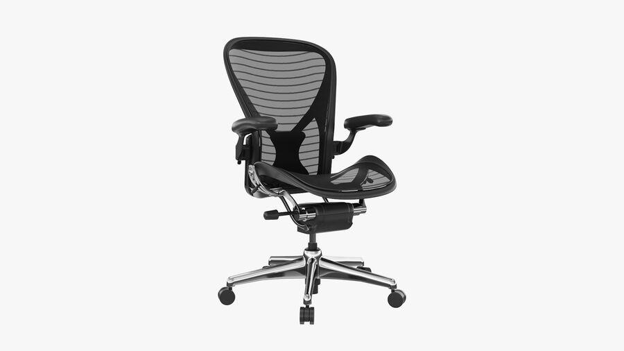 Chaise de bureau Aeron Chair royalty-free 3d model - Preview no. 2