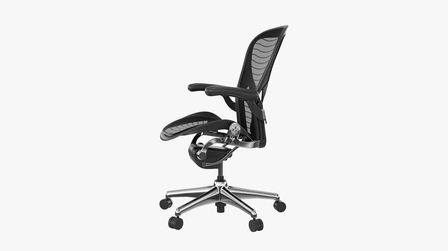 Chaise de bureau Aeron Chair royalty-free 3d model - Preview no. 9