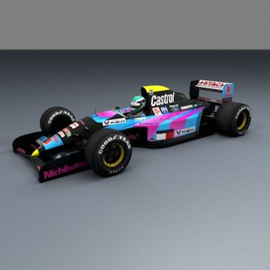 F1 1992 일반 royalty-free 3d model - Preview no. 5