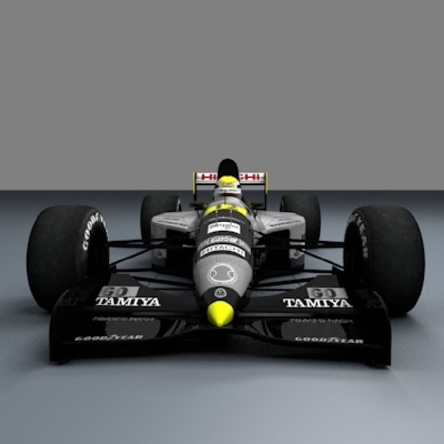 F1 1992 royalty-free 3d model - Preview no. 2