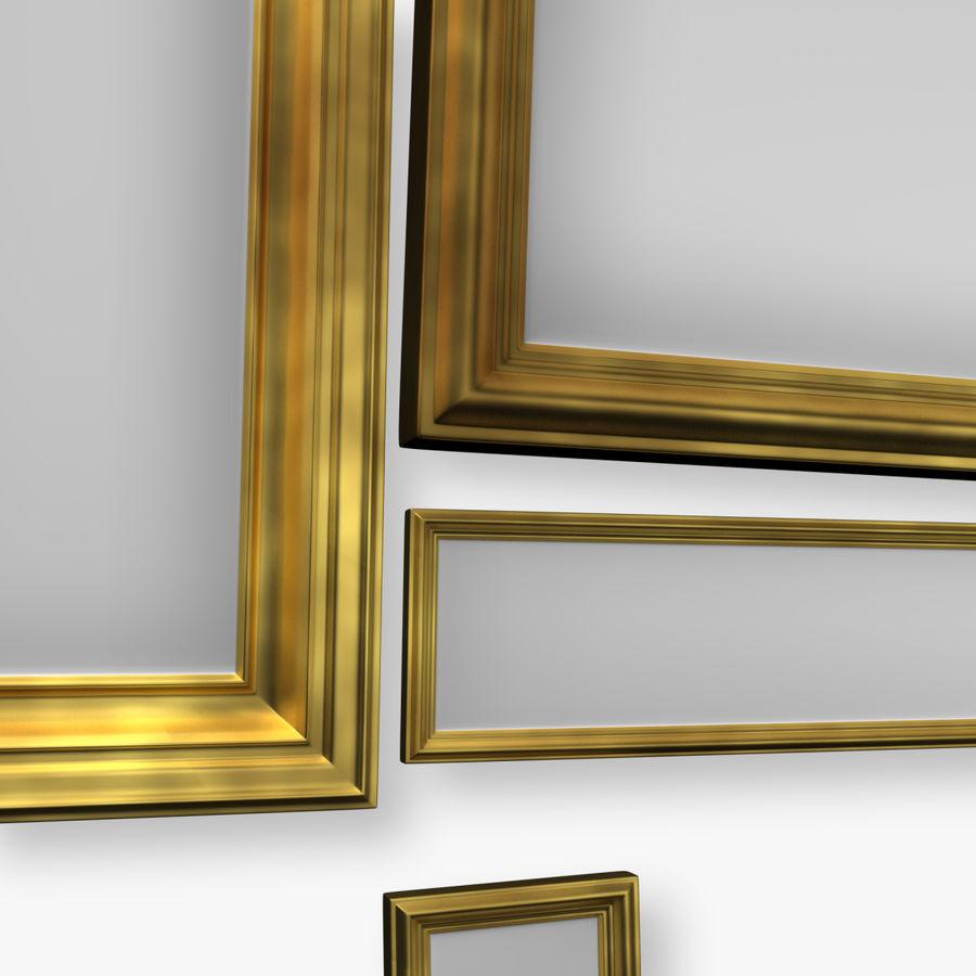相框集合 royalty-free 3d model - Preview no. 3