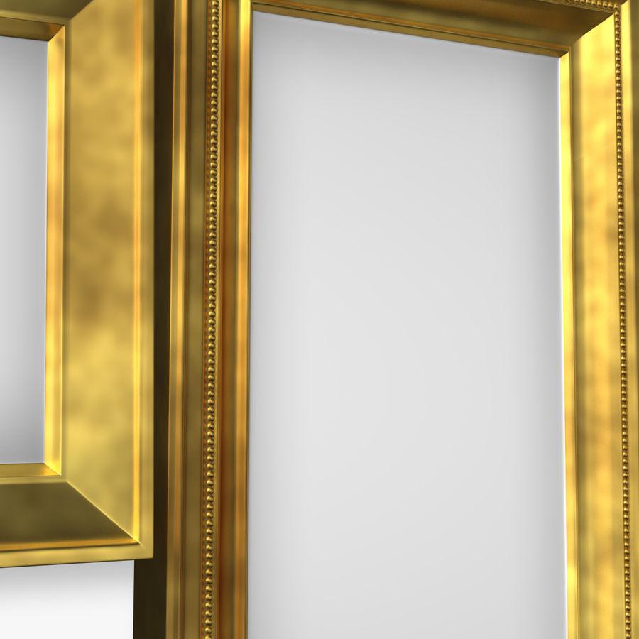 相框集合 royalty-free 3d model - Preview no. 2