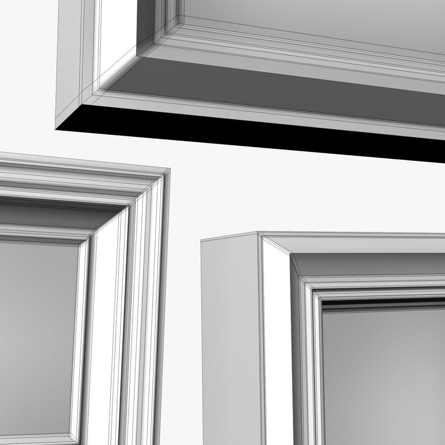 相框集合 royalty-free 3d model - Preview no. 10