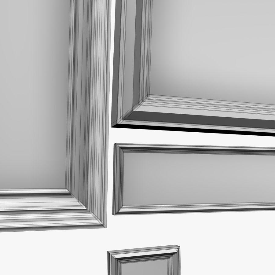 相框集合 royalty-free 3d model - Preview no. 8