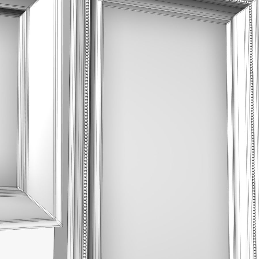 相框集合 royalty-free 3d model - Preview no. 7