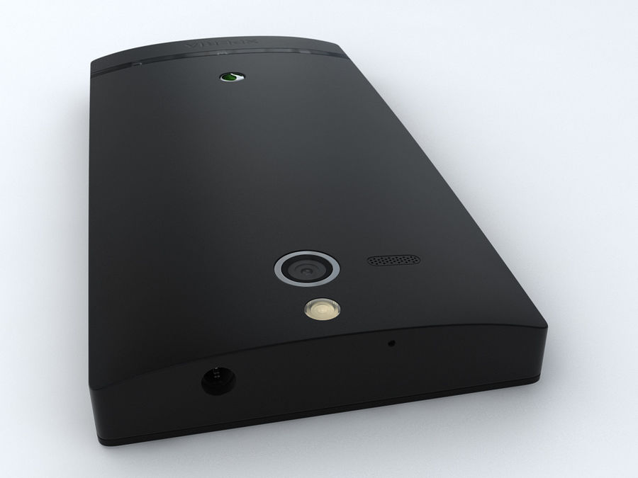 Sony Xperia U royalty-free 3d model - Preview no. 14