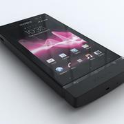 Sony Xperia U 3d model