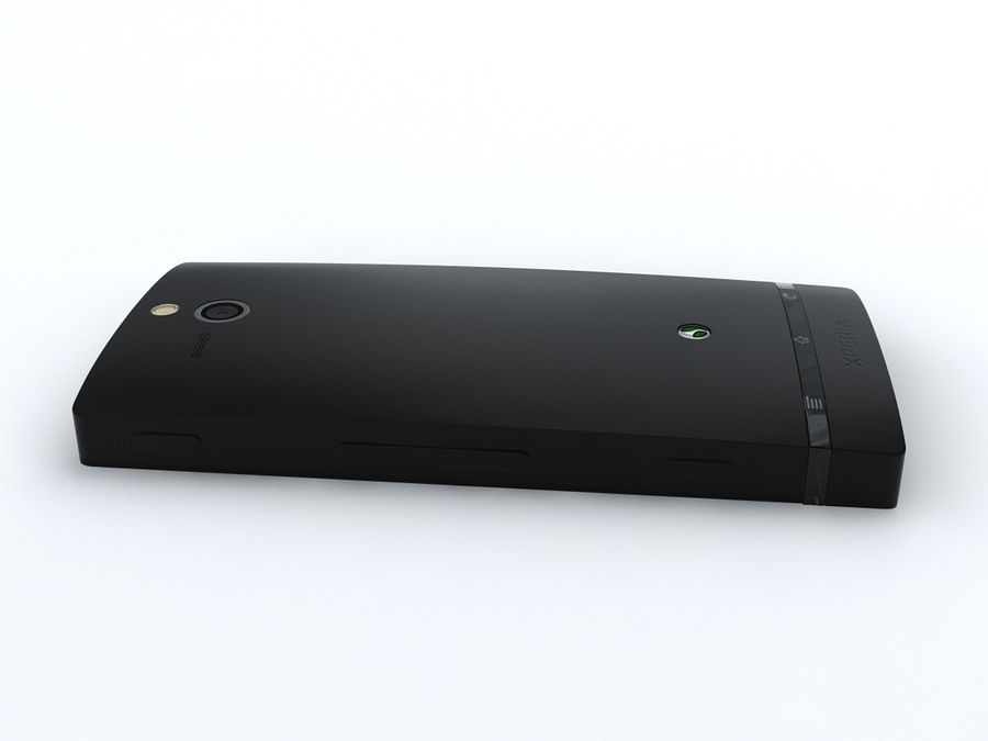 Sony Xperia U royalty-free 3d model - Preview no. 15