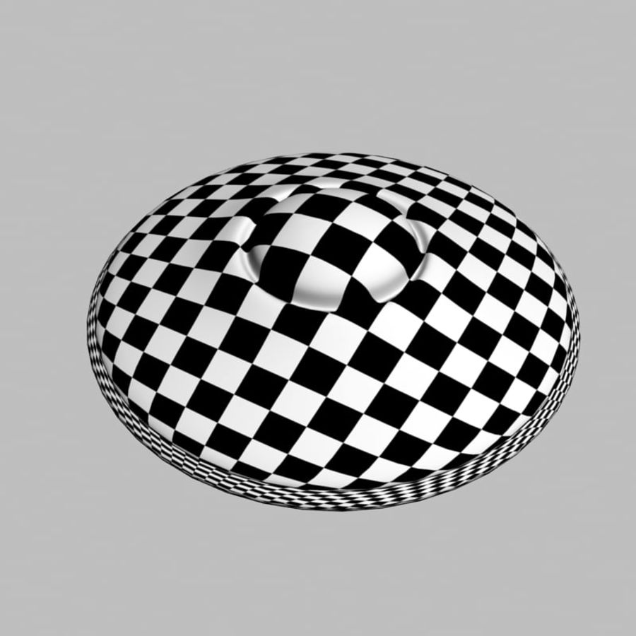 UFO alien spaceship royalty-free 3d model - Preview no. 14