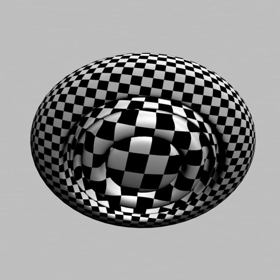 UFO alien spaceship royalty-free 3d model - Preview no. 15