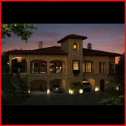 Modern Latin tuscany Hacienda 3d model