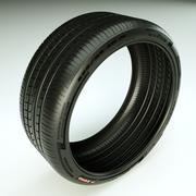 Pirelli Pzero Rosso tire tyre 3d model
