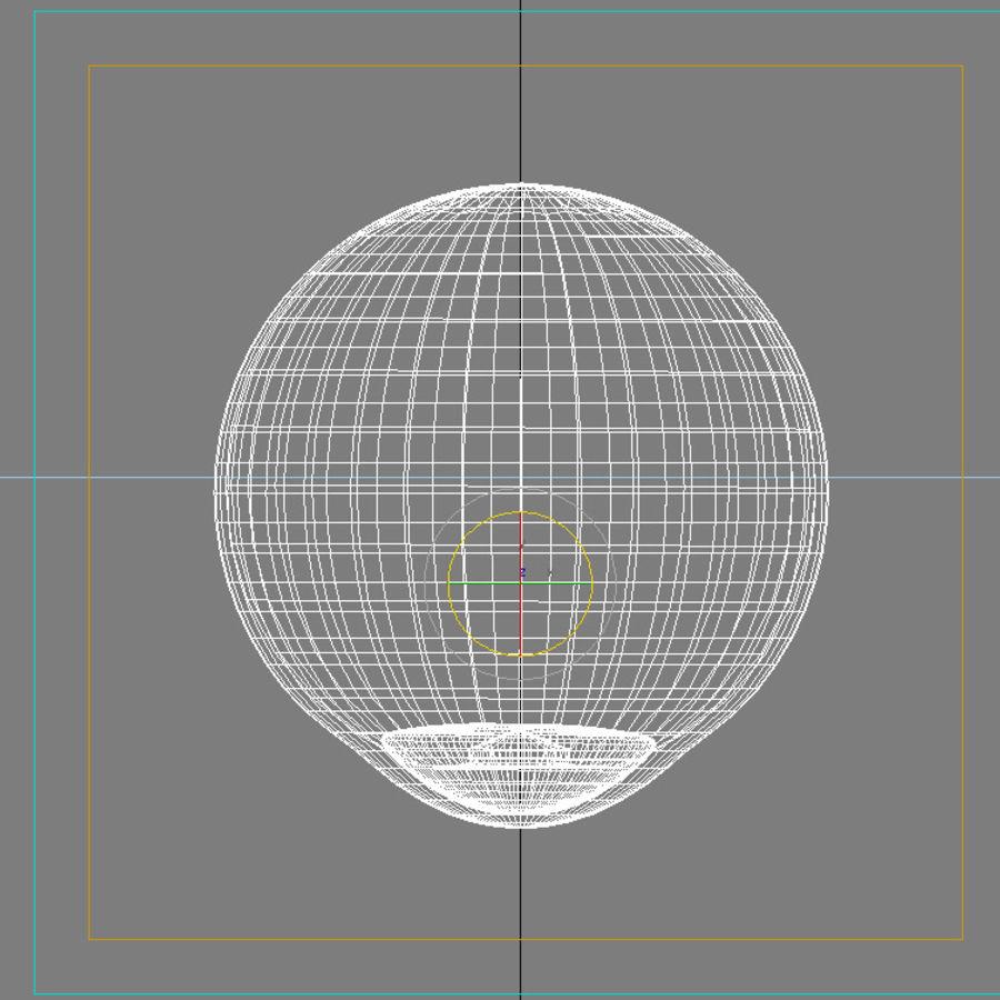 Human Eye royalty-free 3d model - Preview no. 7
