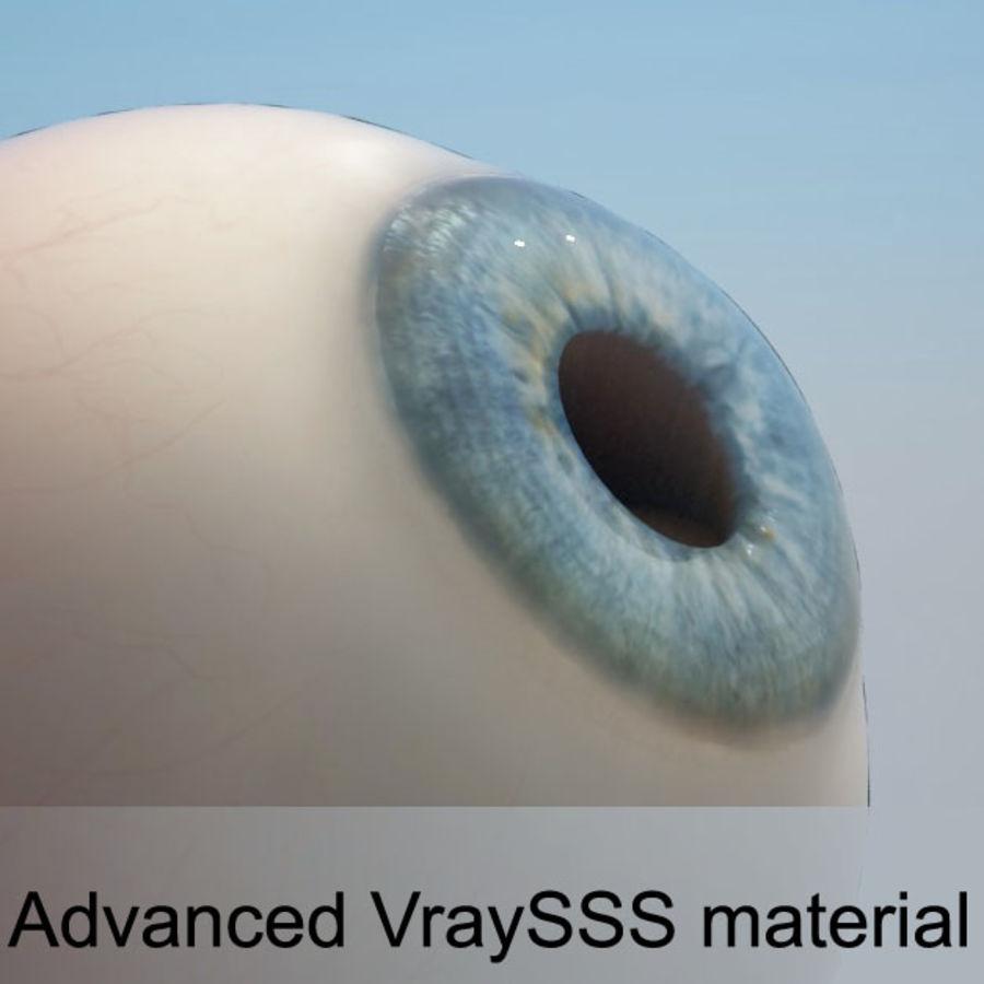 Human Eye royalty-free 3d model - Preview no. 1