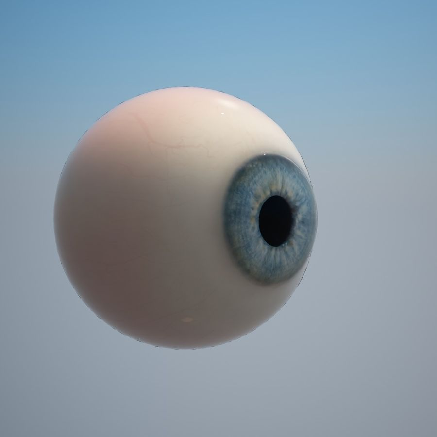 Human Eye royalty-free 3d model - Preview no. 3