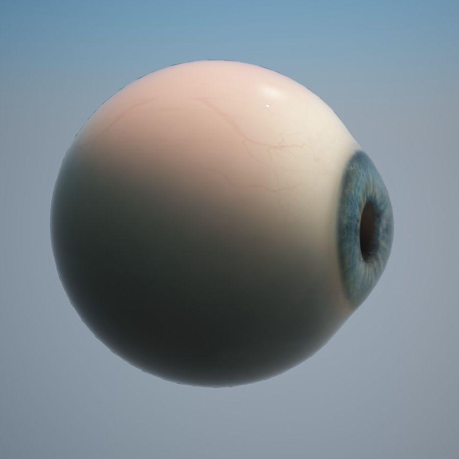 Human Eye royalty-free 3d model - Preview no. 5