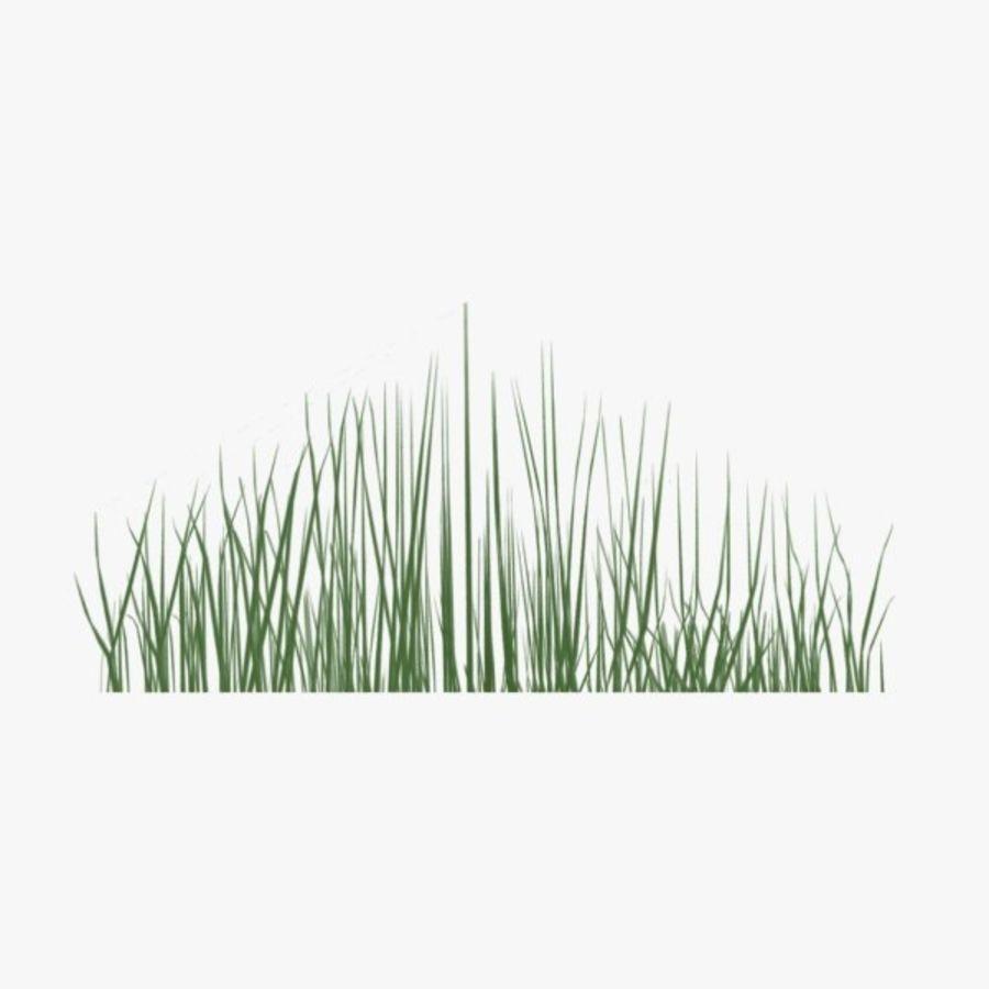 Низкополигональная трава (1) royalty-free 3d model - Preview no. 4