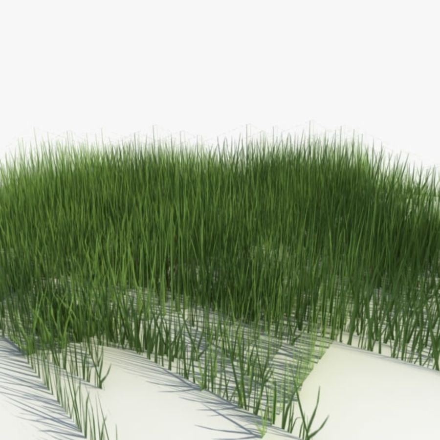Низкополигональная трава (1) royalty-free 3d model - Preview no. 1