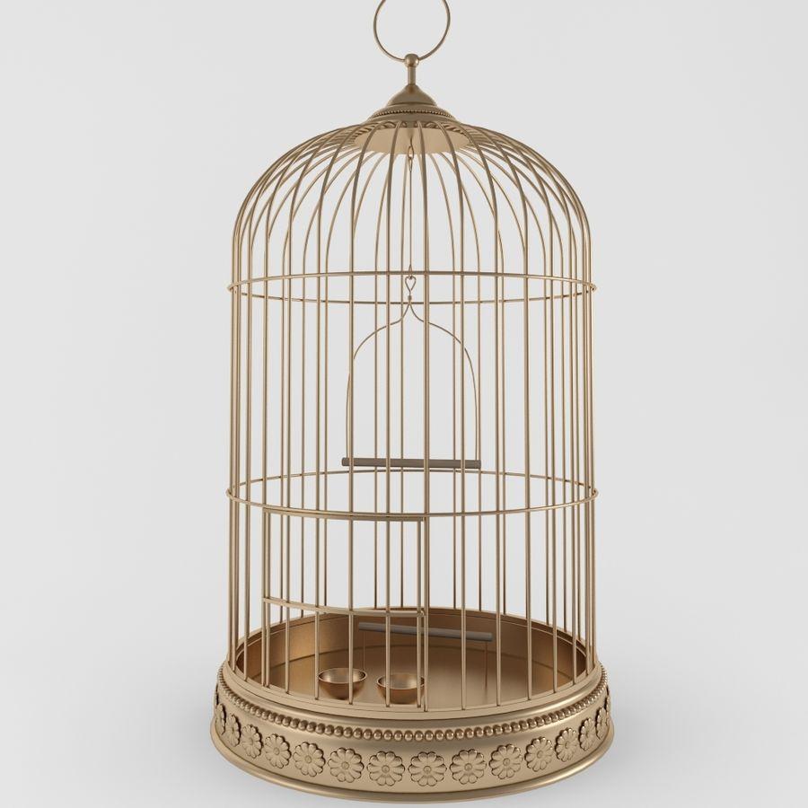 Клетка для птиц royalty-free 3d model - Preview no. 1