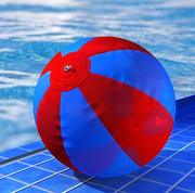 沙滩球 3d model
