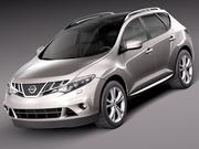 Nissan Murano 2012 modelo 3d