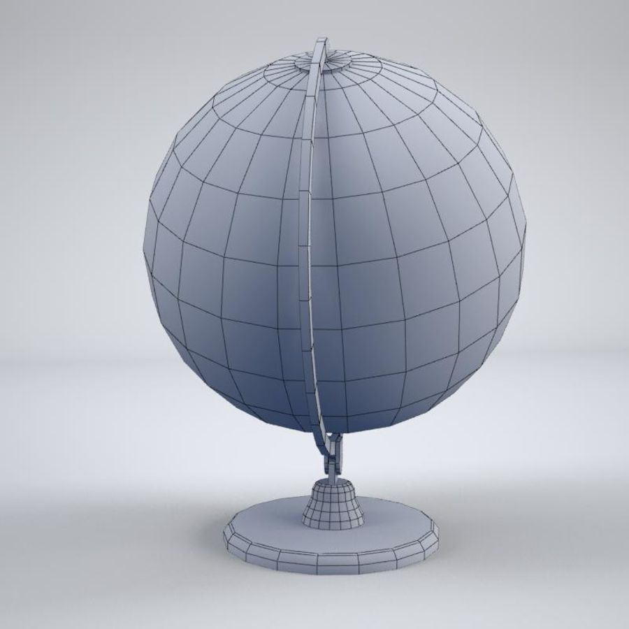 World Globe royalty-free 3d model - Preview no. 6