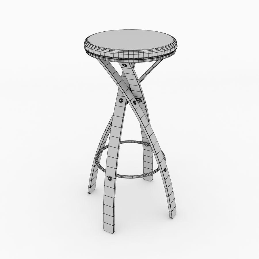 Bar taburesi royalty-free 3d model - Preview no. 4