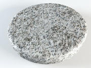 Stepping stone rock 3d model
