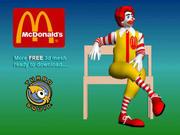 McDonald 3d model