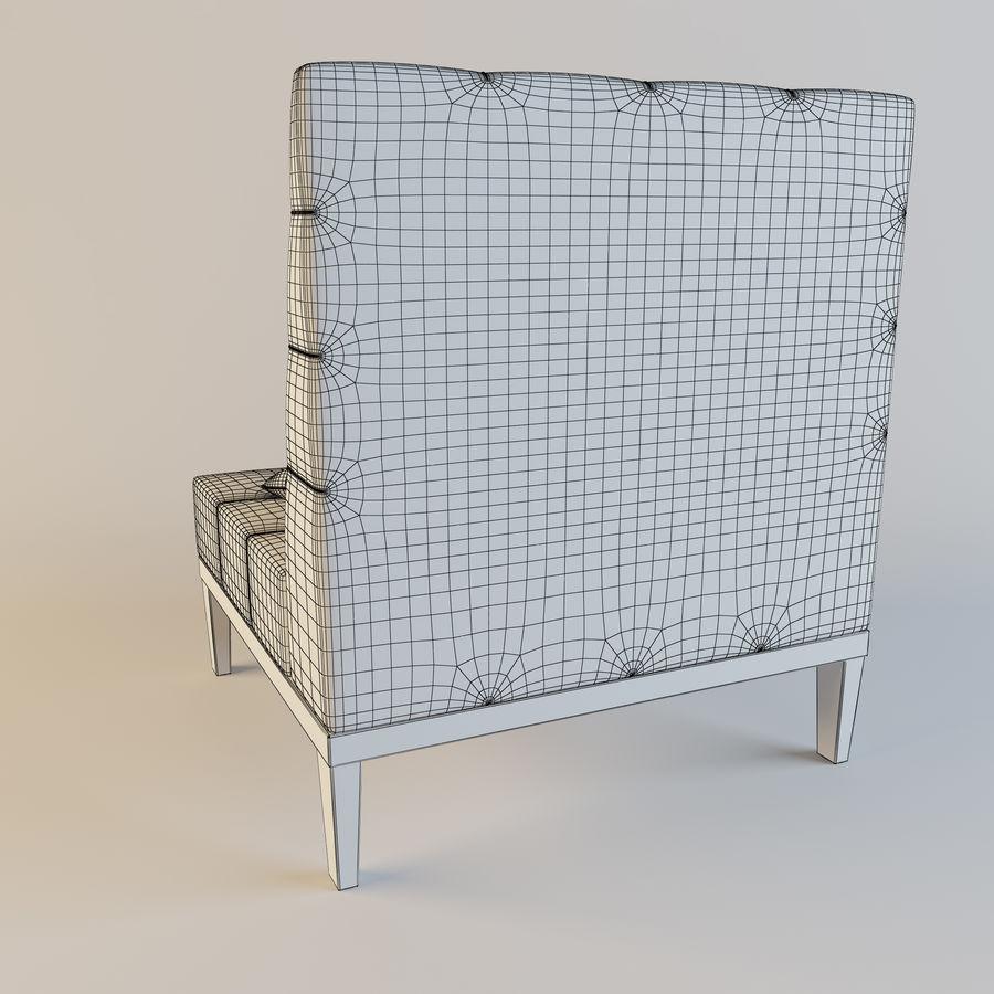 Koltuk (04) royalty-free 3d model - Preview no. 4