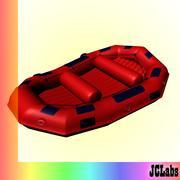 Bateau de rafting 3d model