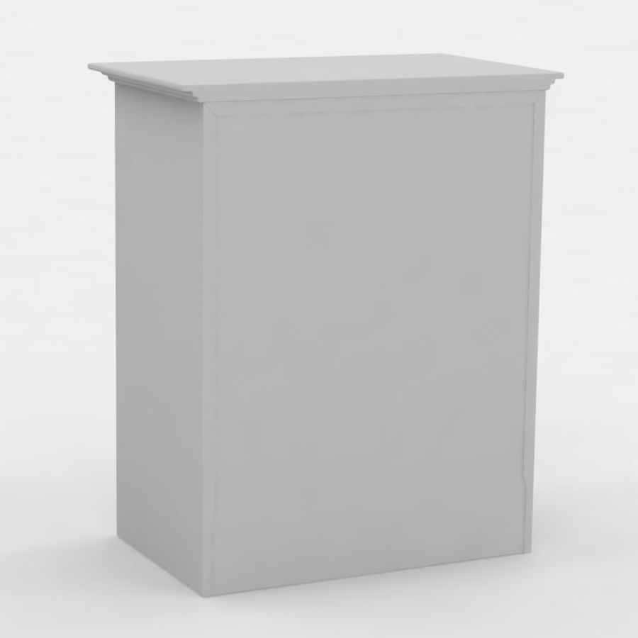 Nachttisch royalty-free 3d model - Preview no. 2
